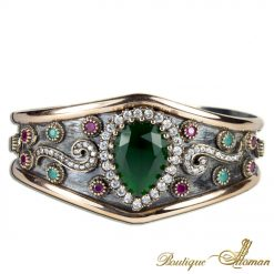 Hurrem Sultan Emerald Bracelet