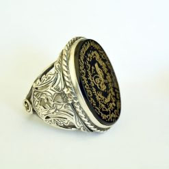 ayat al kursi islamic ring for muslim