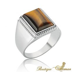Classic Tiger Eye Ring
