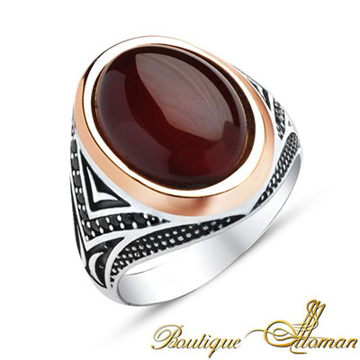 Silver Ring With Pearl India