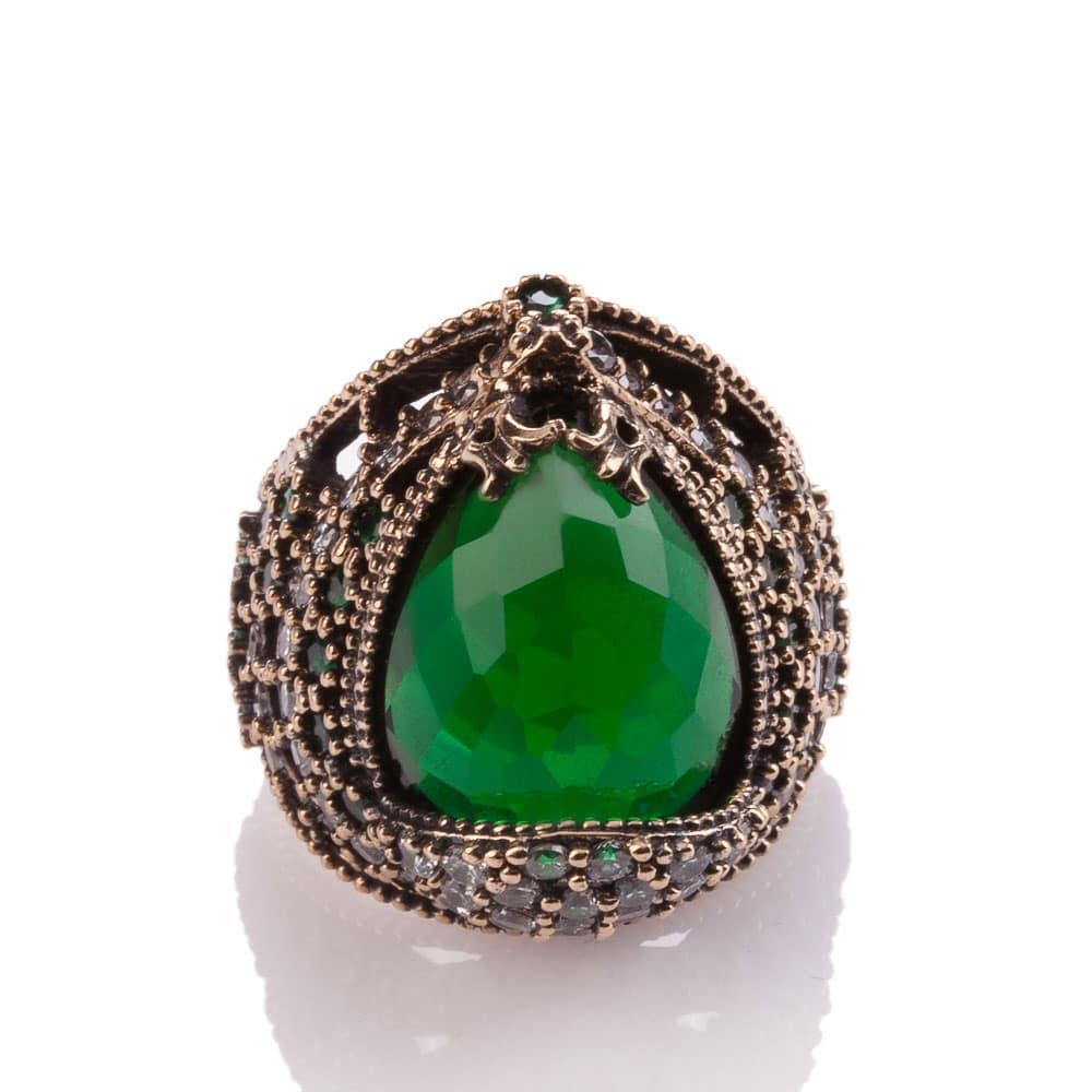 lalezar sultan emerald ring boutique ottoman jewelry store