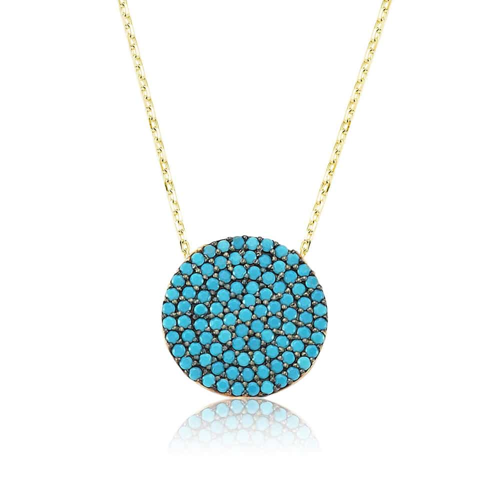 turquoise silver pendant boutique ottoman jewelry