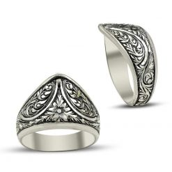 Hand Made Archer Silver Ring