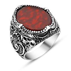 Aqeq Classic Silver Men Ring