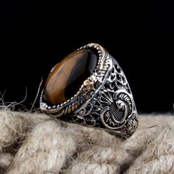 TIGER'S EYE EXCLUSIVE MEN RING