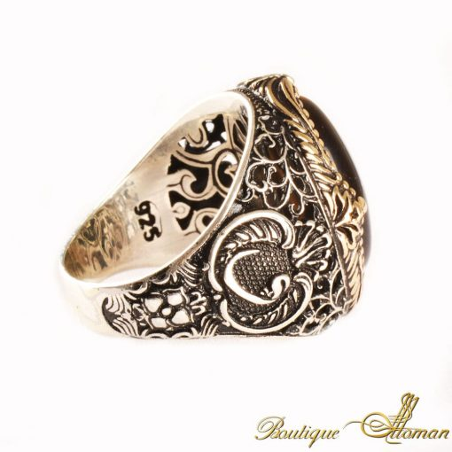 Tiger's Eye Classic Silver Ring