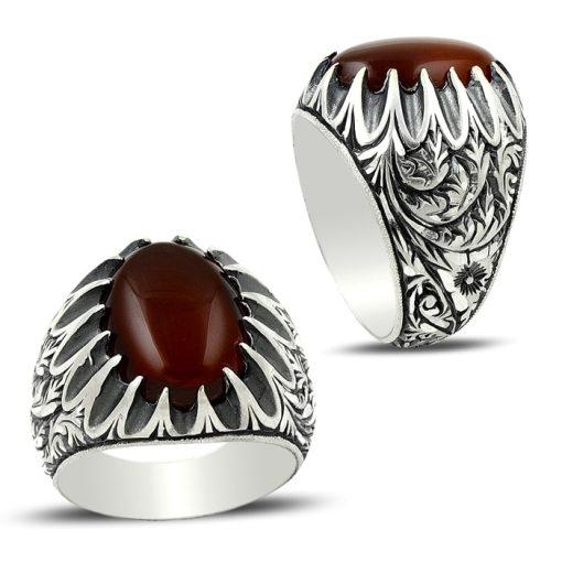 Ottoman Anatolia Aqeeq Ring