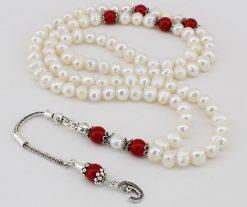 99 Beads Pearl Islamic Tasbeeh Misbaha