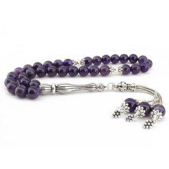 Amethyst Stone 33 Beads Misbaha