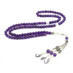 Amethyst-Stone-99-Beads-Misbaha