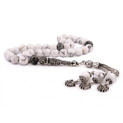 Howlite Stone White Prayer Beads