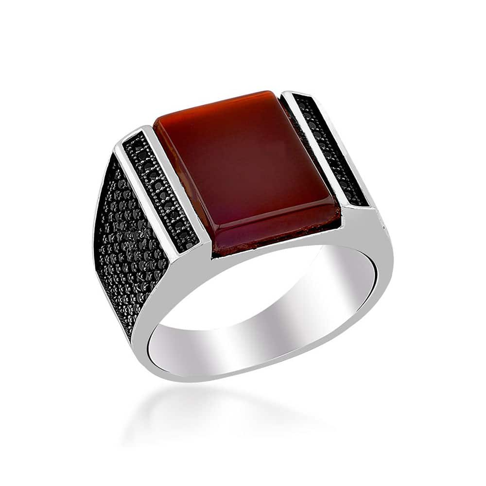 ring red rings shop jewelers estate rubellite kahn of house