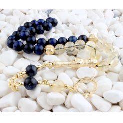 Tiger's Eye and Citrine Stone Prayer Beads
