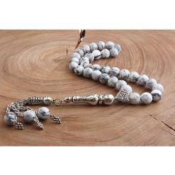 White Onyx Men Prayer Beads