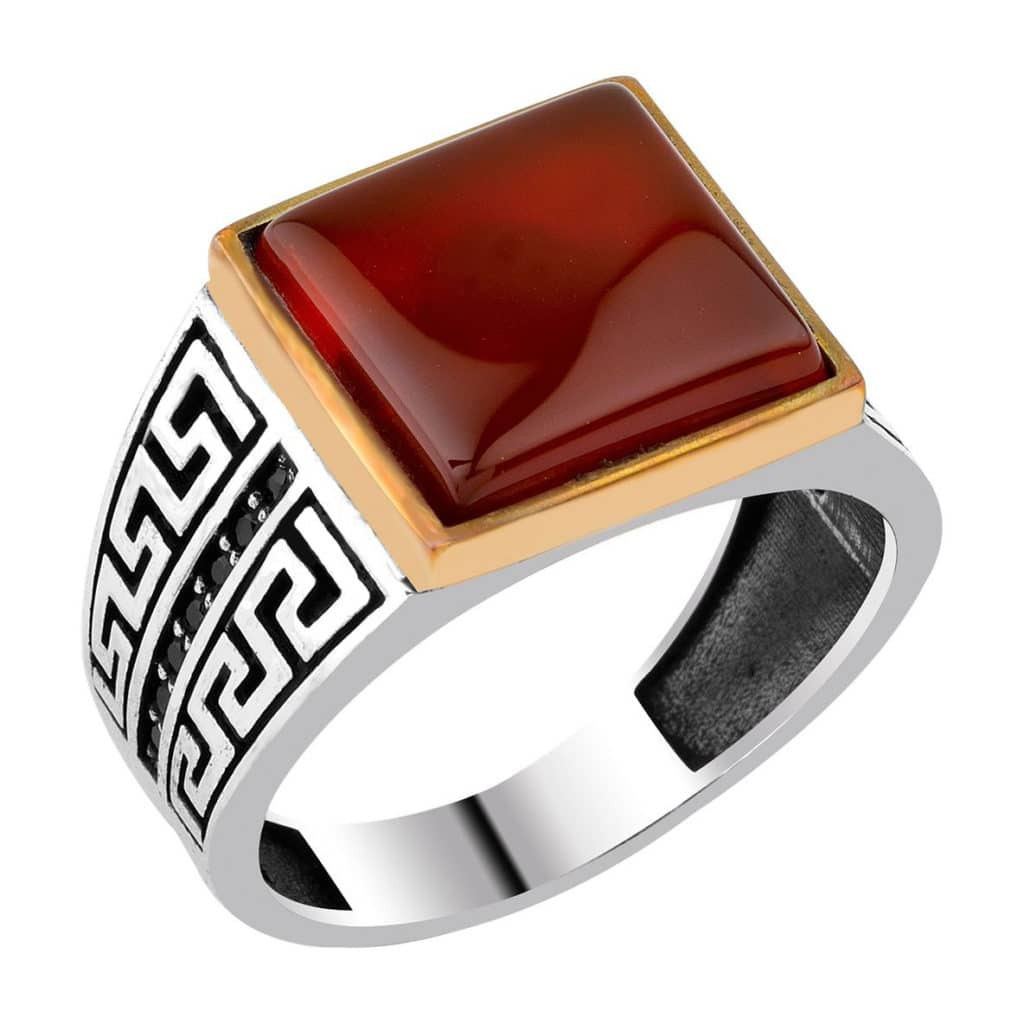 agate single men White gold 18 carat men's ring with rectangular agate stone in the centre and side the leap from a single store to 3 outlets did not happen overnight it was.