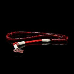 Red Amber Tasbih With 1000 ct. Silver Kazaz Tassle-TG-1017