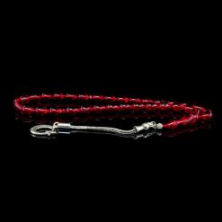 Red Amber Tasbih With 925 Sterling Silver Tassle-TG-1021