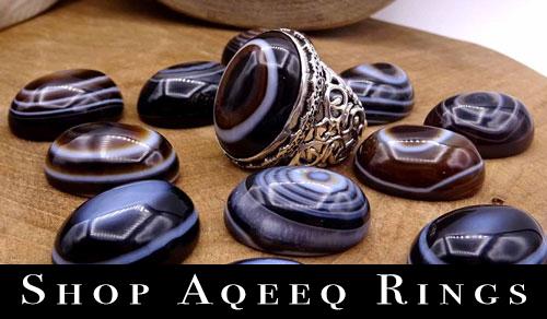 Shop Aqeeq Rings