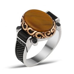 Chesta Collection Gentle Tiger's Eye Ring