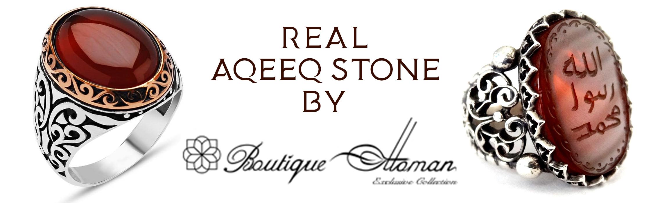 Real Aqeeq Stone