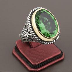 ZL-0007-3 - Zultanite Diaspore Gemstone Classic Silver Ring 925