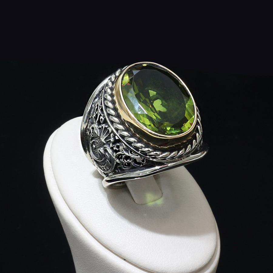 Zultania Stone Sultans Silver Ring Boutique Ottoman