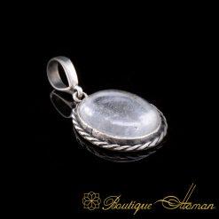 Dur-Al-Najaf-Pendant-Necklace-Najaf-Stone-Silver