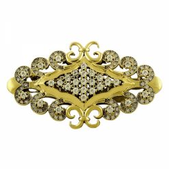 Ottoman Style Brooch by Boutique Ottoman Exclusive Silver Brooches and Pins Collection BOW-8074