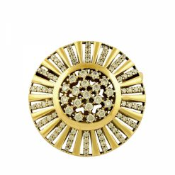 Ottoman Style Brooch by Boutique Ottoman Exclusive Silver Brooches and Pins Collection BOW-8082