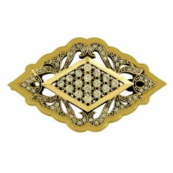 Authentic Yellow Ottoman Brooch