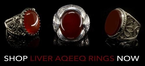 Liver Aqeeq Rings Shop