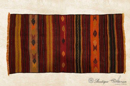 Antique Anatolian Handmade Rug (141 x 72 cm / 4,65 x 2,35 FT)