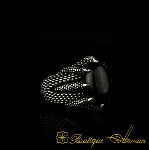 Falcon Collection Onyx Ring
