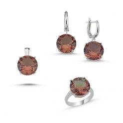 Zultanite Color Change Turkish Stone-Round Cut Zultania Set