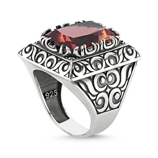 Zultanite Color Change Turkish Stone-Zultanite Classic Men Ring
