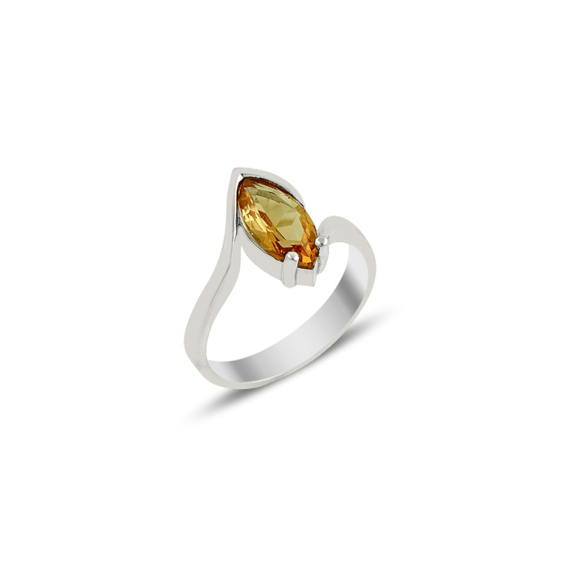 Marquise Cut 14k Solid Absolute Rose Gold Sultanit Turkish Diaspore Color Changing Womens Ring