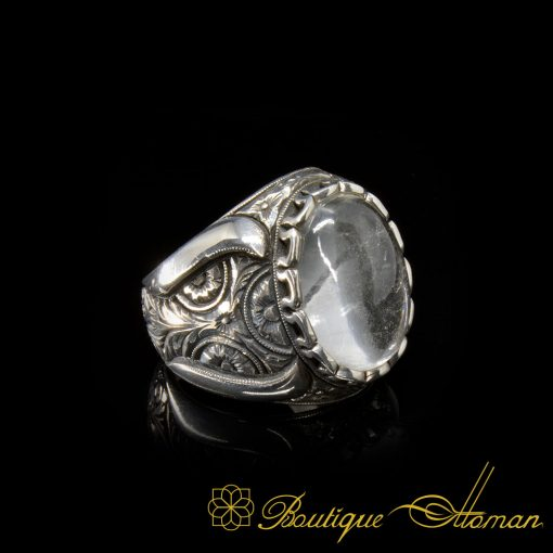 Handcraft Dur Al Najaf 925 Silver Men Ring