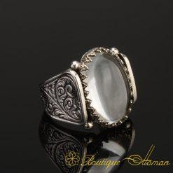 Hun-Collection-Dur-Al-Najaf-Silver-Men-Ring