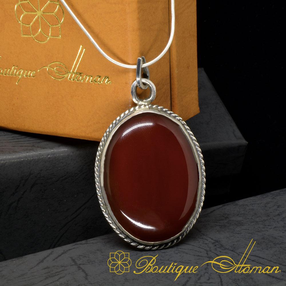 Red-Liver-Aqeeq-Pendant-Yemeni-Aqeeq-Pendant-925-Sterling-Silver-Handmade-2
