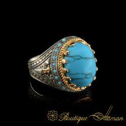 Turquoise-Feroza-Arabic-Silver-Ring-3061-5-4
