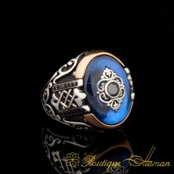 Orient Blue Mina Exclusive Men Ring