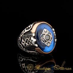 Orient Blue Mina Exclusive Men Ring