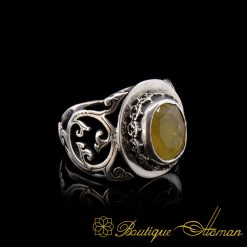 Rare Yellow Sapphire (Pukhraj Ratna) Ring Limited Edition