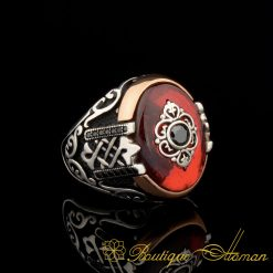 Orient Red Mina Exclusive Men Ring