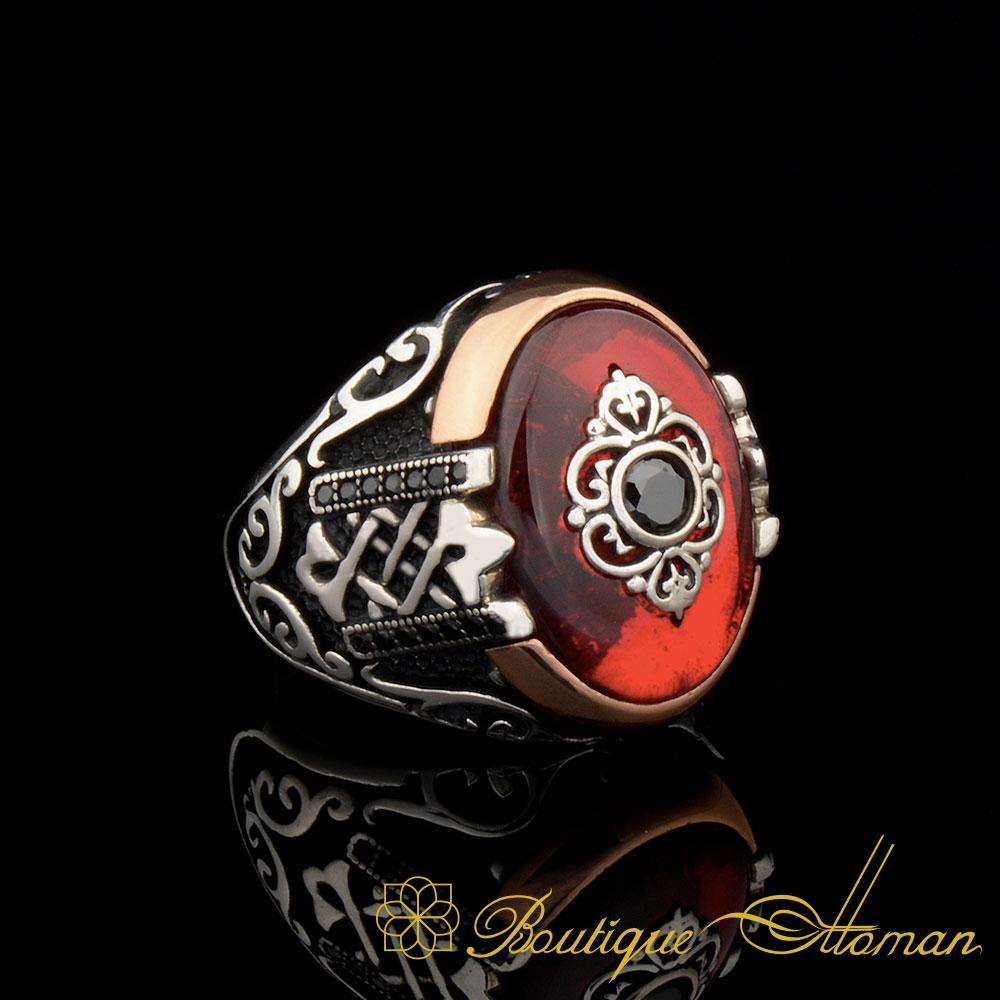 Orient Red Mina Exclusive Men Ring