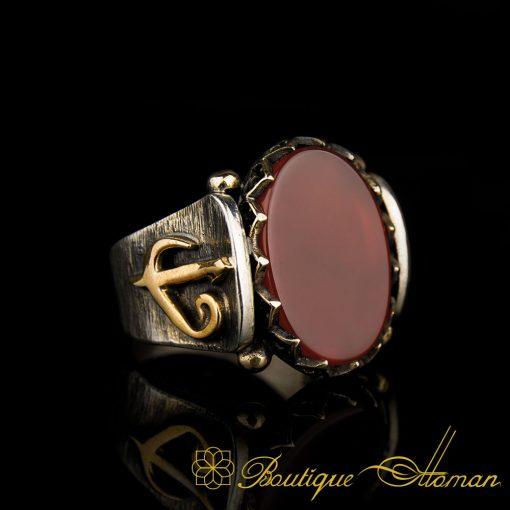 Class Of Aqeeq Vertical Ring
