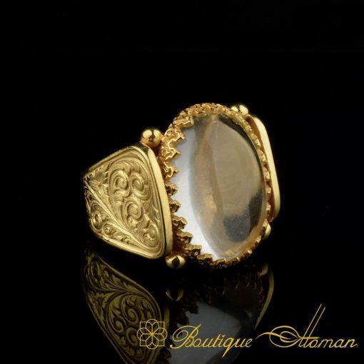 Hun-Collection-Dur-Al-Najaf-Gold-Version-Men-Ring-6
