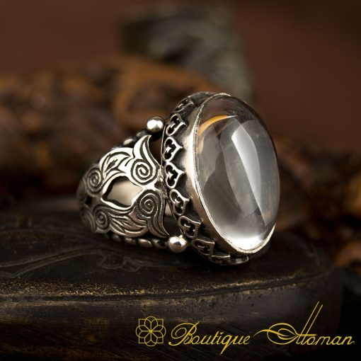 Traditional Hand Made Durr-A-Najaf Silver Ring