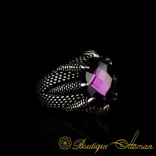 Falcon Collection Amethyst Ring-1