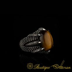 Falcon Collection Tigers Eye Ring